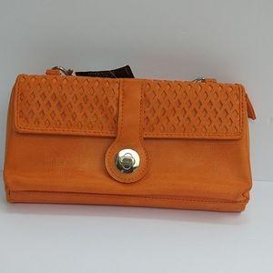 I am selling it in Orange wallet